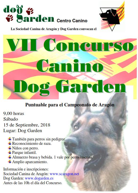 VII concurso canino